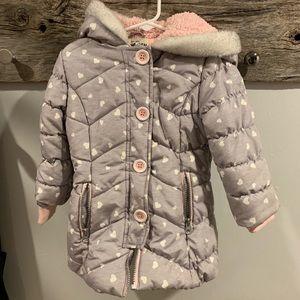 3T Oshkosh bubble jacket